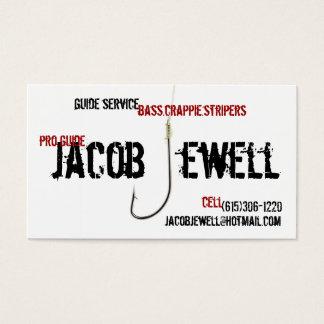 Jakobs Fischen-Führer-Service Visitenkarte
