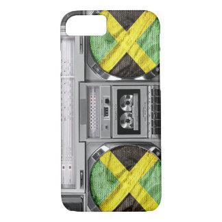Jamaika boombox iPhone 8/7 hülle