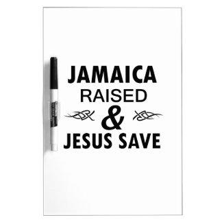 Jamaika-Entwürfe Trockenlöschtafel