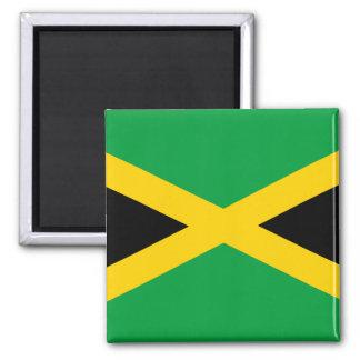 Jamaika-Flagge Quadratischer Magnet