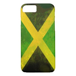 Jamaika-Flagge - Reggaewurzeln iPhone 8/7 Hülle