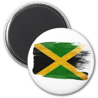 Jamaika-Flaggen-Magneten Runder Magnet 5,1 Cm