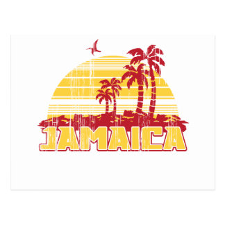 Jamaika-Paradies Postkarte