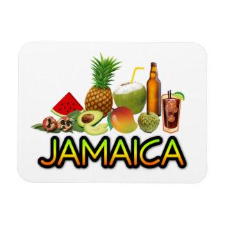 Jamaikanische Nahrung Magnet