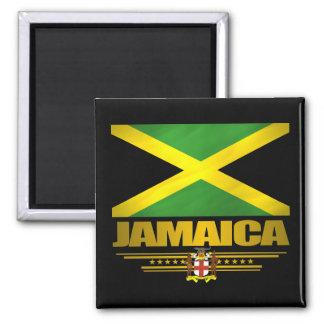 Jamaikanische Stolz-Magneten Quadratischer Magnet