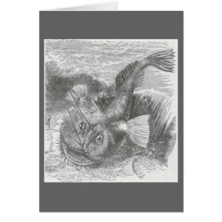 James Johonnot - Angler-Fisch Grußkarte