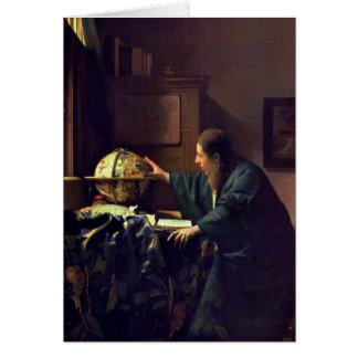 Jan. Vermeer - der Astronom Karte