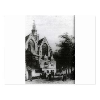 Janskerk (Gouda) durch Cornelis-Springer Postkarte