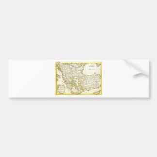 Janvier Karte 1771 von Griechenland die Türkei Maz Autoaufkleber