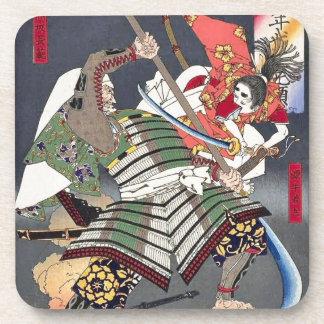 Japaner Ukiyoe Kunst Untersetzer