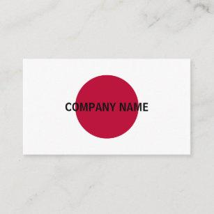 Flagge Von Japan Visitenkarten Zazzle At