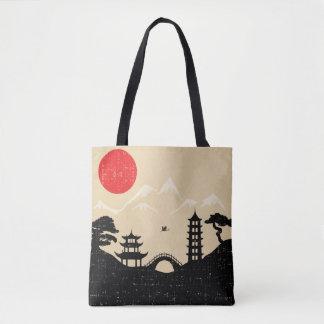 Japanische Landschaft - Schmutz-Art