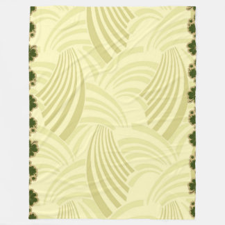 Japanische Ozean-Wellen-Muster-Fleece-Decke groß Fleecedecke