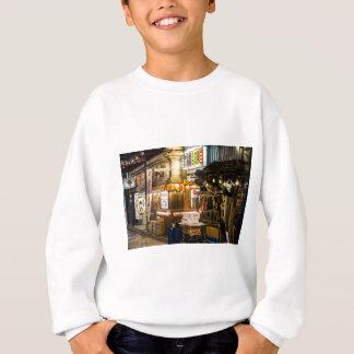 Japanische Stadt-Szene Sweatshirt