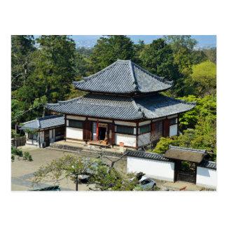 Japanische Tempel-Postkarte Postkarte