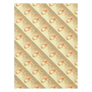 Japanischer Goldfisch Tischdecke