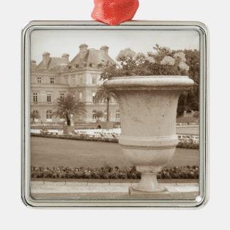 Jardin DU Luxemburg, Vintages Paris Silbernes Ornament
