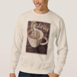 Java-Kaffee-Tassen-Kunst Sweatshirt