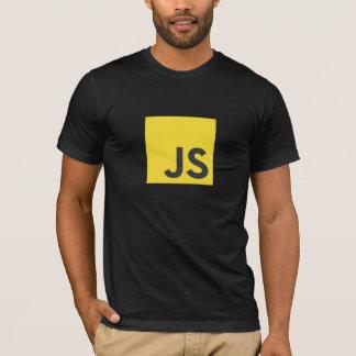 Javascript-Logo-T - Shirt (Schwarzes)