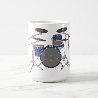 Jazz-Trommel-Ausrüstung: Kundenspezifisches Blau Tasse