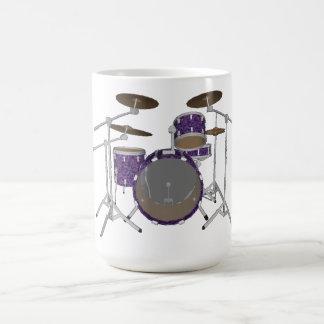 Jazz-Trommel-Ausrüstung: Kundenspezifisches Kaffeetasse
