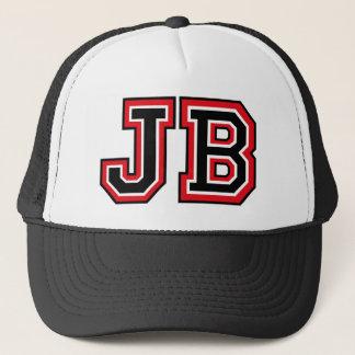 """""""JB"""" Monogramm Truckerkappe"""