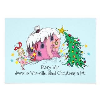 Jedes das in Dem-ville, gemochtes Weihnachten Karte