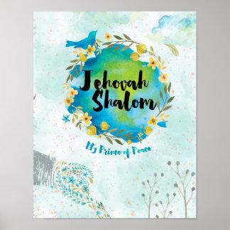 Jehovah Shalom - Prinz des Friedensplakats Poster