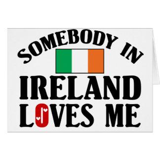 Jemand in Irland Grußkarte