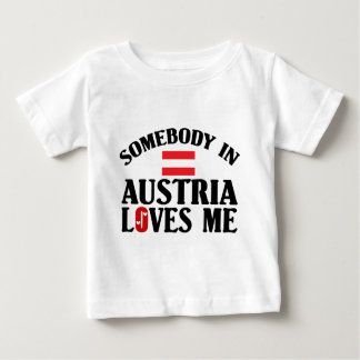 Jemand in Österreich Baby T-shirt
