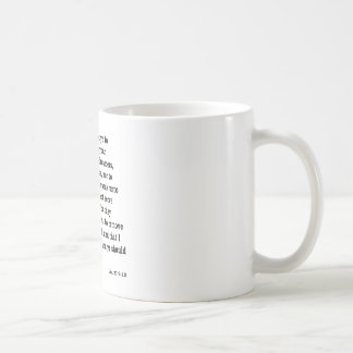 Jer. 27:9 - 10 kaffeetasse