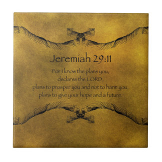 Jeremias-29:11 Fliese