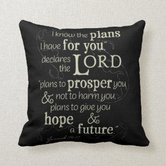 Jeremias-29:11 kenne ich die Pläne, die ich für Kissen