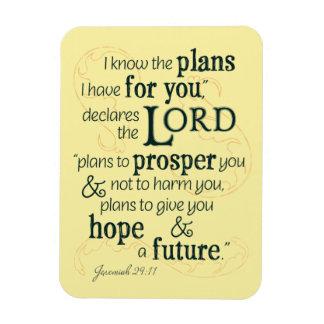 Jeremias-29:11 kenne ich die Pläne, die ich für Magnet