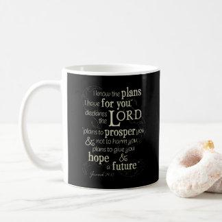 Jeremias-29:11 kenne ich die Pläne, die ich für Tasse
