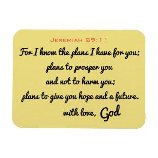 Jeremias-29:11 Magnet
