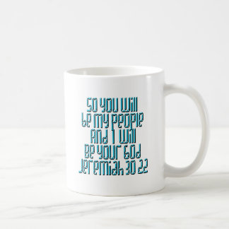 Jeremias-30:22 Kaffeetasse