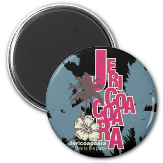 Jericoacoara T - Shirts und Geschenke Runder Magnet 5,7 Cm