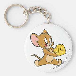Jerry mag seinen Käse Standard Runder Schlüsselanhänger