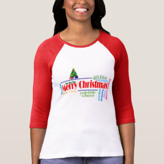 Jersey-Shirt der Frauen Weihnachts T-Shirt
