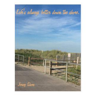 Jersey-Uferpostkarte Postkarte