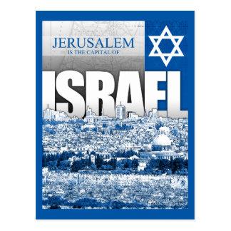 Jerusalem, Israel Postkarte