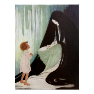 Jessie Willcox Smith - Diamant und der Nordwind Poster