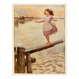 Jessie Willcox Smith-Postkarten-Illustration Postkarte