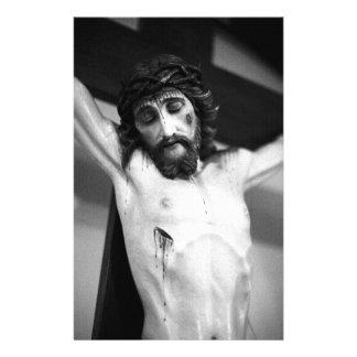 Jesus auf dem Kreuz Briefpapier