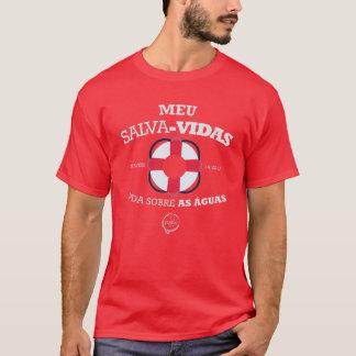 Jesus geht Mein Rettungsring, für àguas. T-Shirt