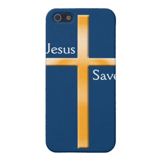 Jesus Gerettete-Kreuz iPhone 5 Case