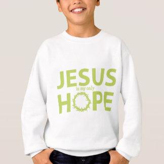 Jesus-Hoffnung hellgrün Sweatshirt