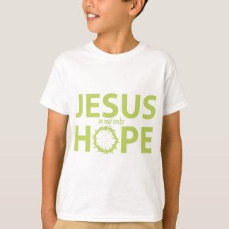 Jesus-Hoffnung hellgrün T-Shirt