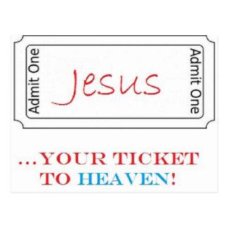 Jesus… Ihre Karte zum Himmel!